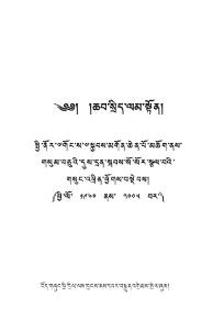 ཆབ་སྲིད་ལམ་སྟོན།